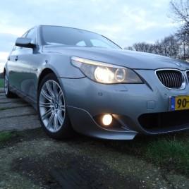BMW 530i e60 met ///Mpakket breed Navi Leer Bom vol VERKOCHT