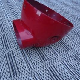 Skymax (dax) koplamp/teller huis rood