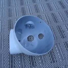 Skymax (dax) koplamp/teller huis wit