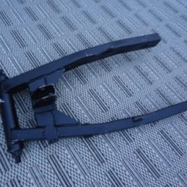 PBR achterbrug mat zwart