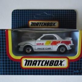 Mr2 aw11 matchbox modelauto nieuw in verpakking